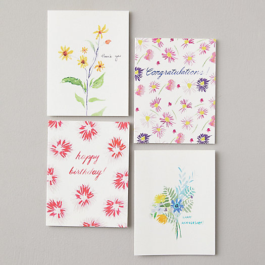 View larger image of Spring Greetings Cards, Set of 8