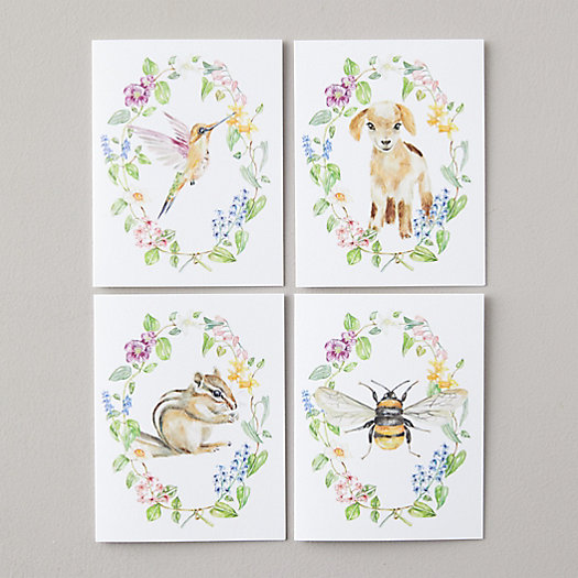 View larger image of Woodland Creature Greeting Cards, Set of 8