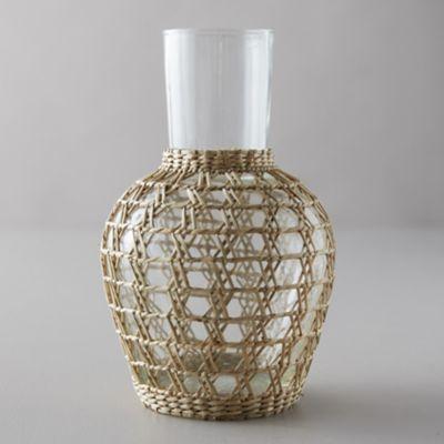 Seagrass Wrap Carafe