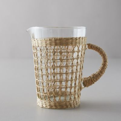 Seagrass Wrap Pitcher