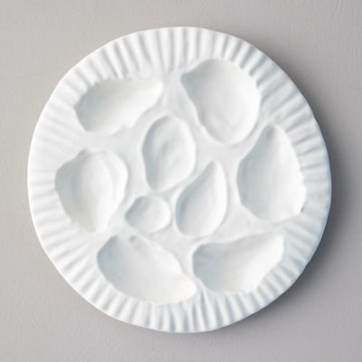 Ceramic Oyster Serving Plate