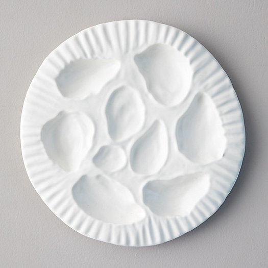 View larger image of Ceramic Oyster Serving Plate