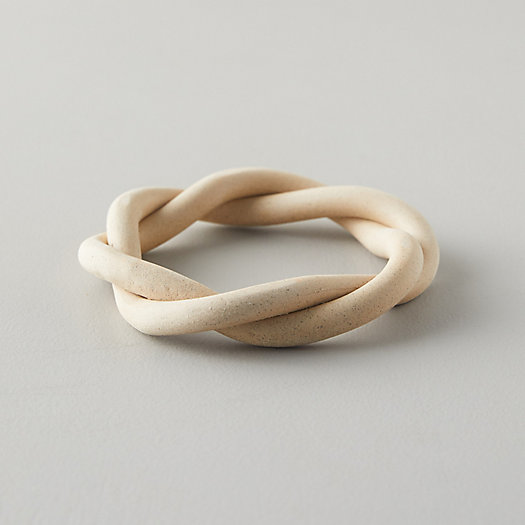 View larger image of Coil Ceramic Twist Trivet