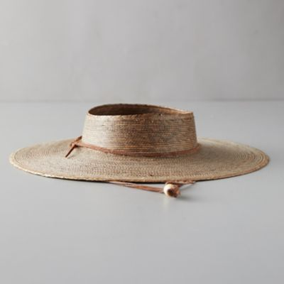 Open Crown Sun Hat