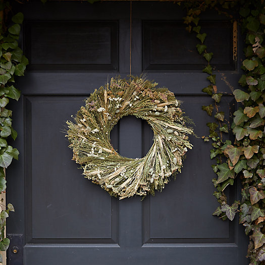 View larger image of Creams + Greens Wreath