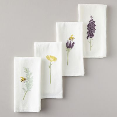 Honeybee Garden Napkins, Set of 4