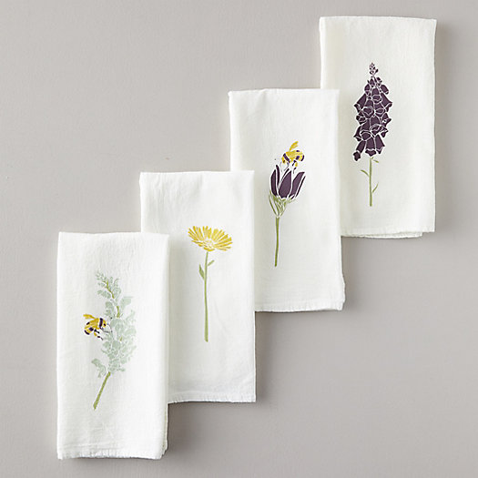 View larger image of Honeybee Garden Napkins, Set of 4