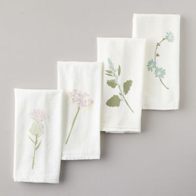 Found + Foraged Napkins, Set of 4