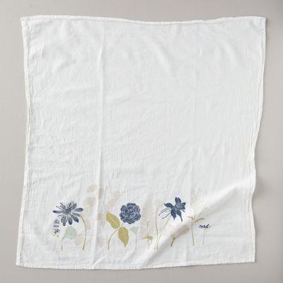 Peace Floral Tea Towel