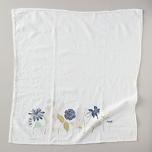 View larger image of Peace Floral Dish Towel