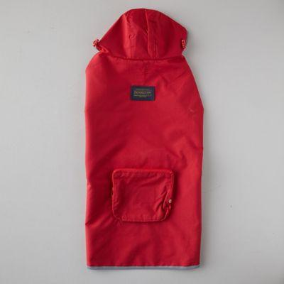 Pendleton Water-Proof Pet Rain Coat, Red