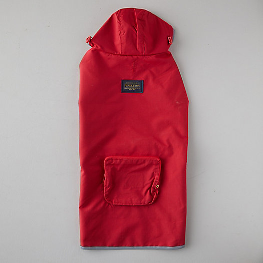 View larger image of Pendleton Water-Proof Pet Rain Coat, Red
