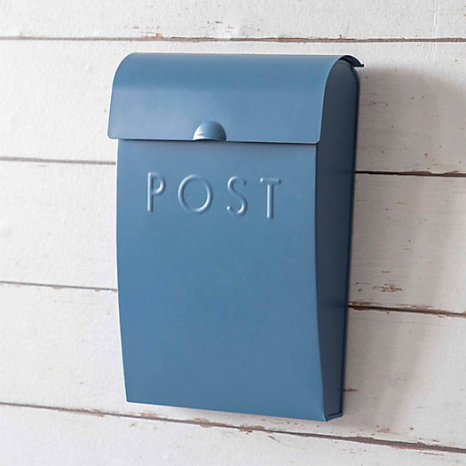 View larger image of Steel Mail Box with Lock