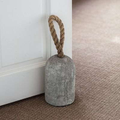 Jute + Cement Doorstop