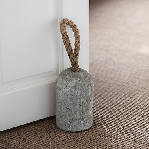 View larger image of Jute + Cement Doorstop