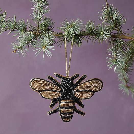 View larger image of Beaded Bumble Bee Ornament