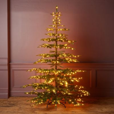 Faux Pre-Lit Big + Bright Noble Fir