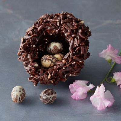 Chocolate Nest with Eggs