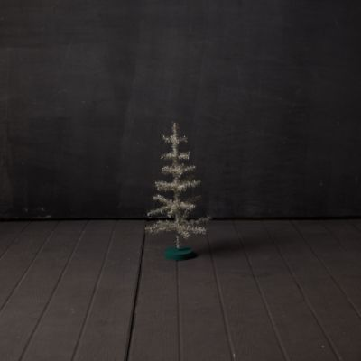 Tinsel Tabletop Christmas Tree