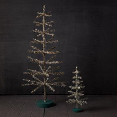 Tinsel Tabletop Christmas Tree