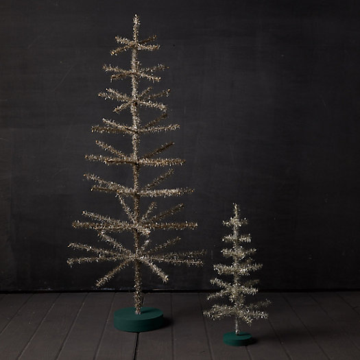 View larger image of Tinsel Tabletop Christmas Tree