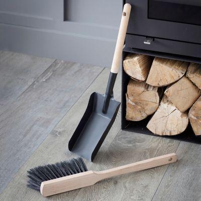 Fireside Dust Pan + Brush Set