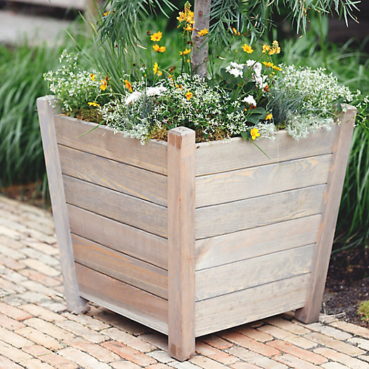 View larger image of Spruce Plank Planter