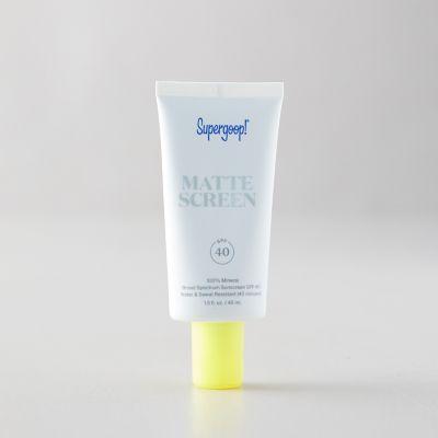 Supergoop SPF 40 Mineral Matte Sunscreen