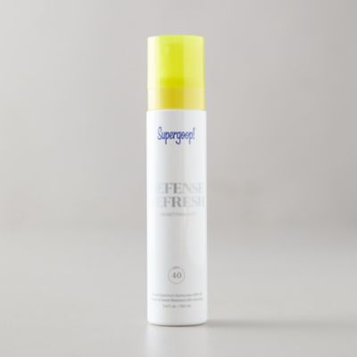 Supergoop SPF 40 Sunscreen Setting Mist