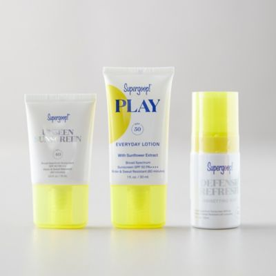 Supergoop Jet Set Suncare Kit