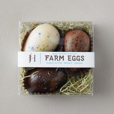 Chocolate Farm Eggs