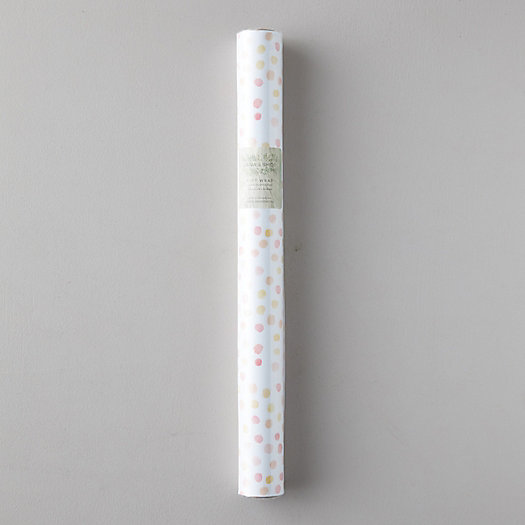View larger image of Coral Dot Gift Wrap Sheets, Set of 3