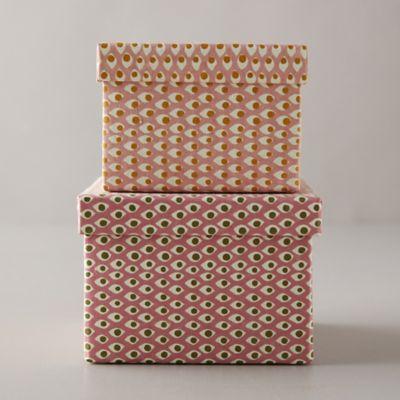 Paper Gift Box, Blush