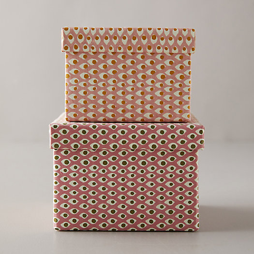 View larger image of Paper Gift Box, Blush