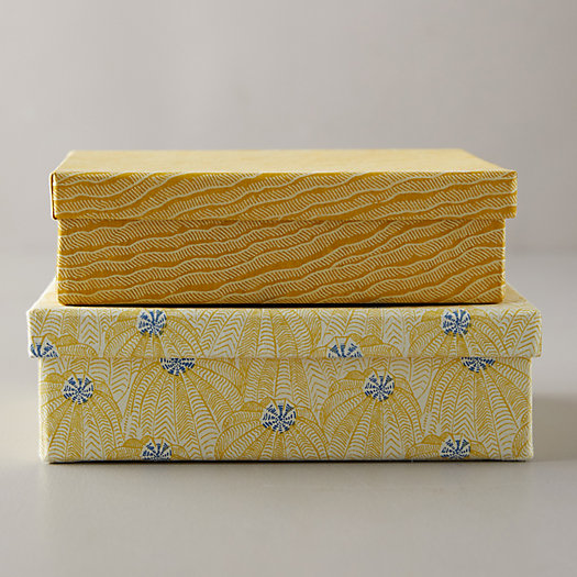 View larger image of Paper Gift Box, Yellow