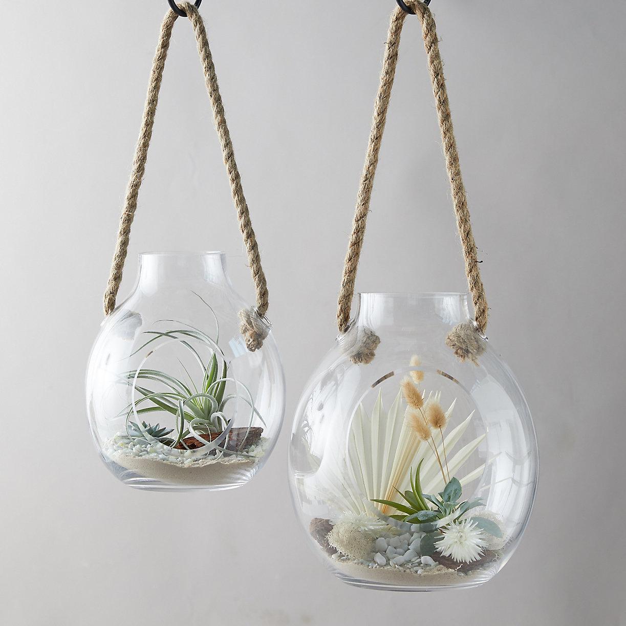 Hanging Round Terrarium