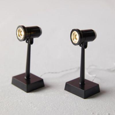 Mini LED Tall Spotlights, Set of 2