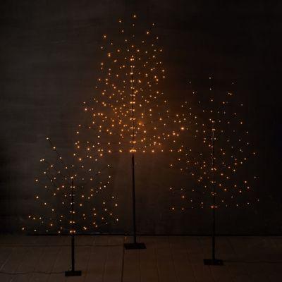 Pre-Lit LED Faux Wispy Tree
