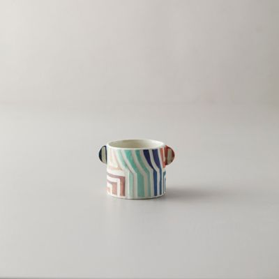 Stripe Color Ceramic Mug