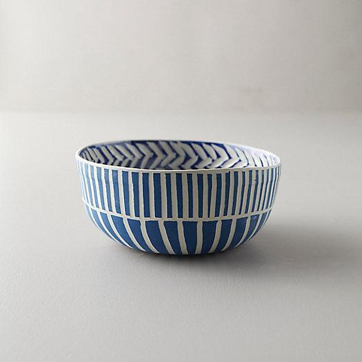 View larger image of Line + Arrow Ceramic Bowl
