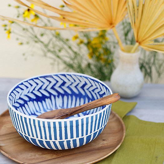 View larger image of Line + Arrow Ceramic Bowl