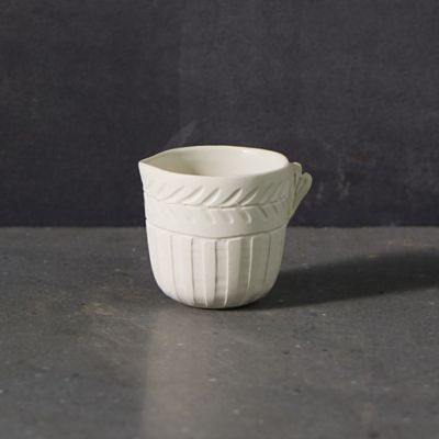 Lines + Arrows Ceramic Creamer Pitcher
