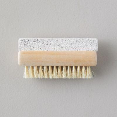 Pumice Stone + Boar Bristle Exfoliating Brush