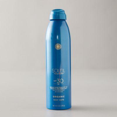Organic SPF 30 Sunscreen Mist
