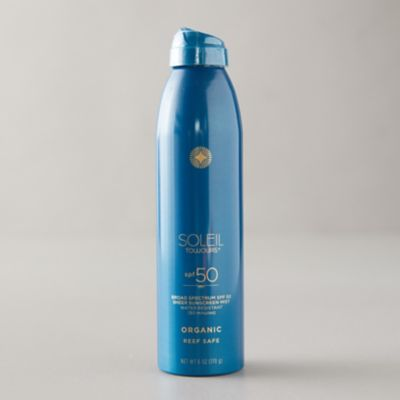 Organic SPF 50 Sunscreen Mist