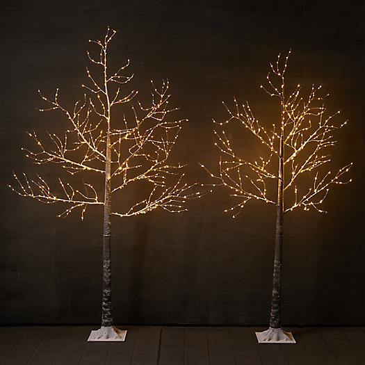 View larger image of Faux Pre-Lit LED Wrapped Branch Tree