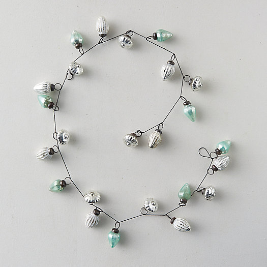 View larger image of Glass Ornament Garland