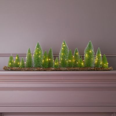 LED Brush Tree Forest Table Piece