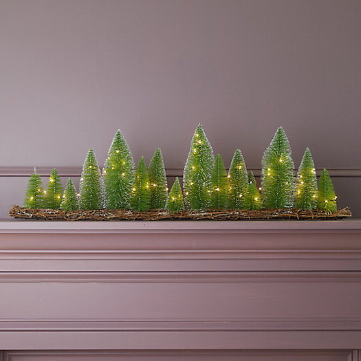 View larger image of LED Brush Tree Forest Table Piece