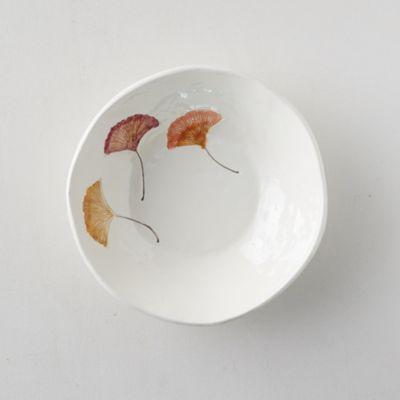 Ginkgo Leaf Serving Bowl